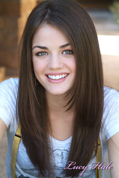 Lucy Hale Hair Straight